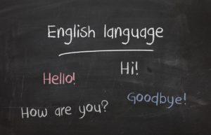 英語は大事!